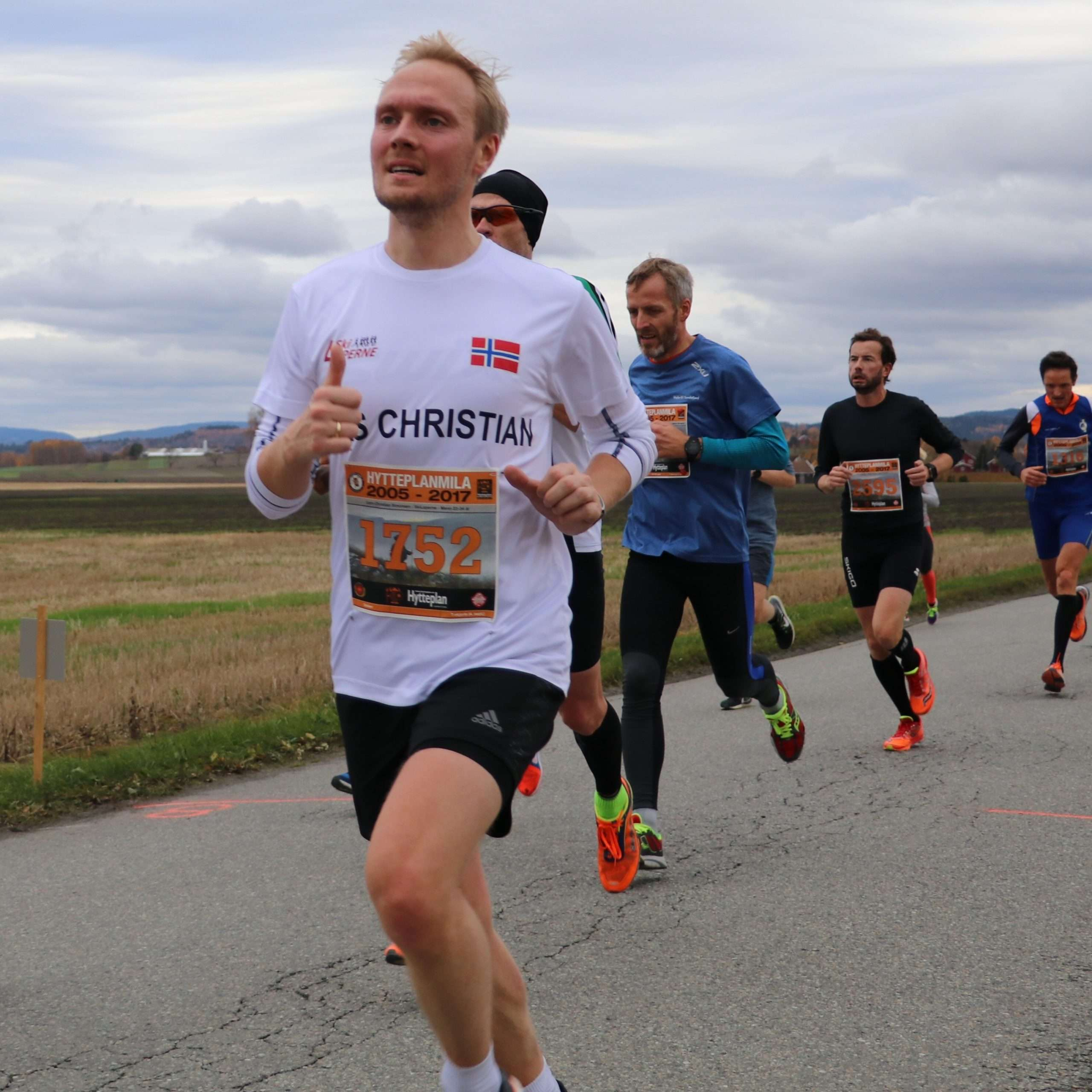 Runner at Hytteplanmila 2017