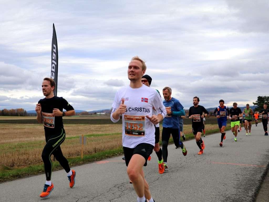 Runner at Hytteplanmila 2017