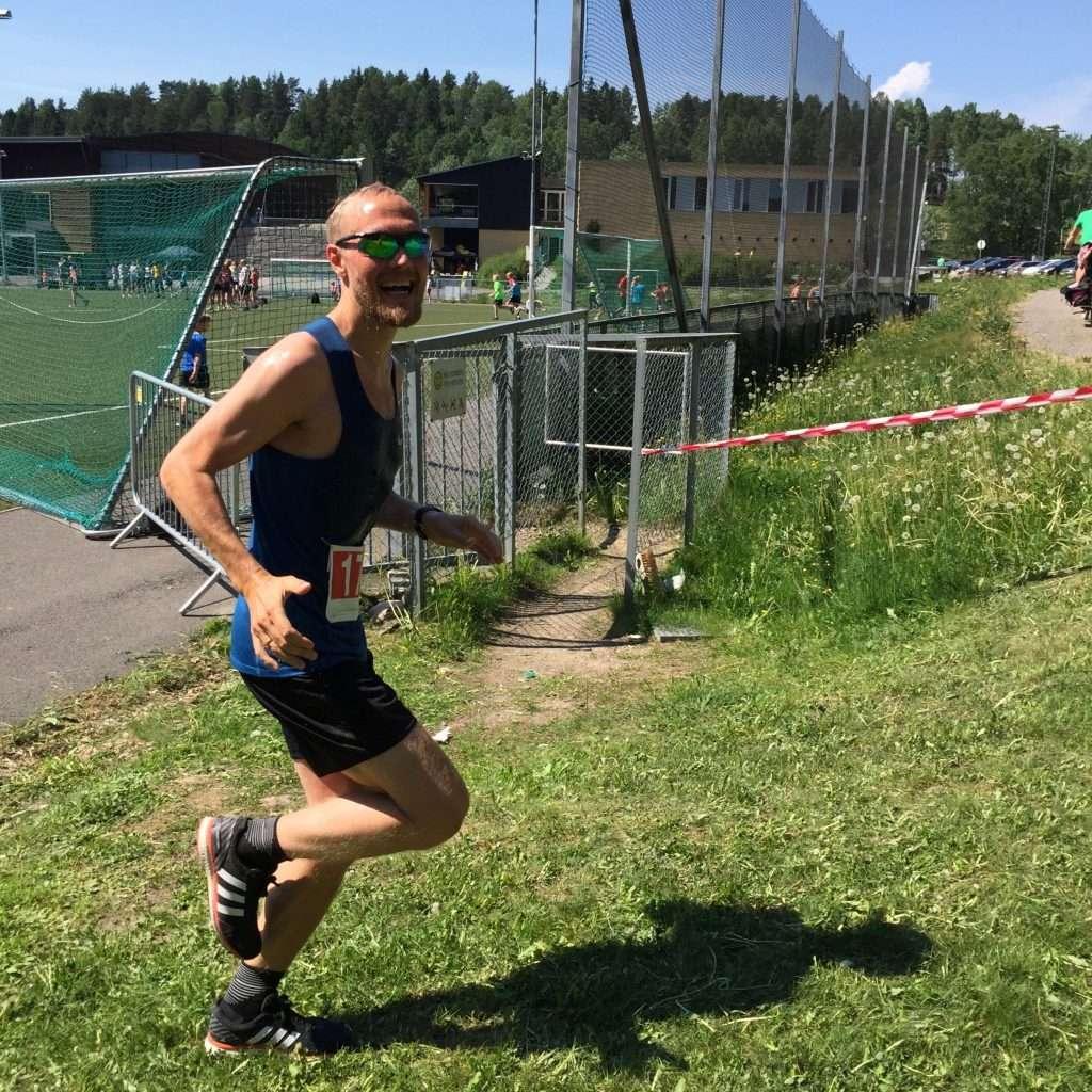 Runner at Oppegårdmila 10k 2018