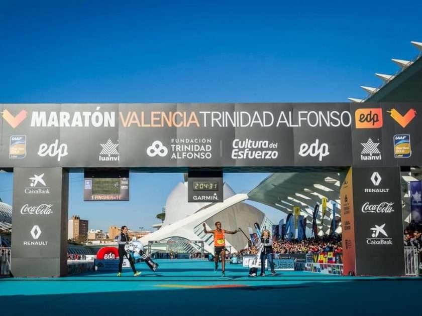 Leul Gebrselassie wins Valencia Marathon 2018