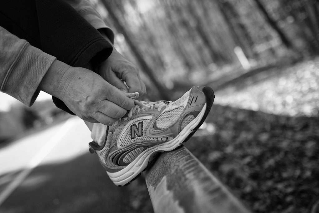 Running injury recovery involves lacing up and putting in the work with cross-training.