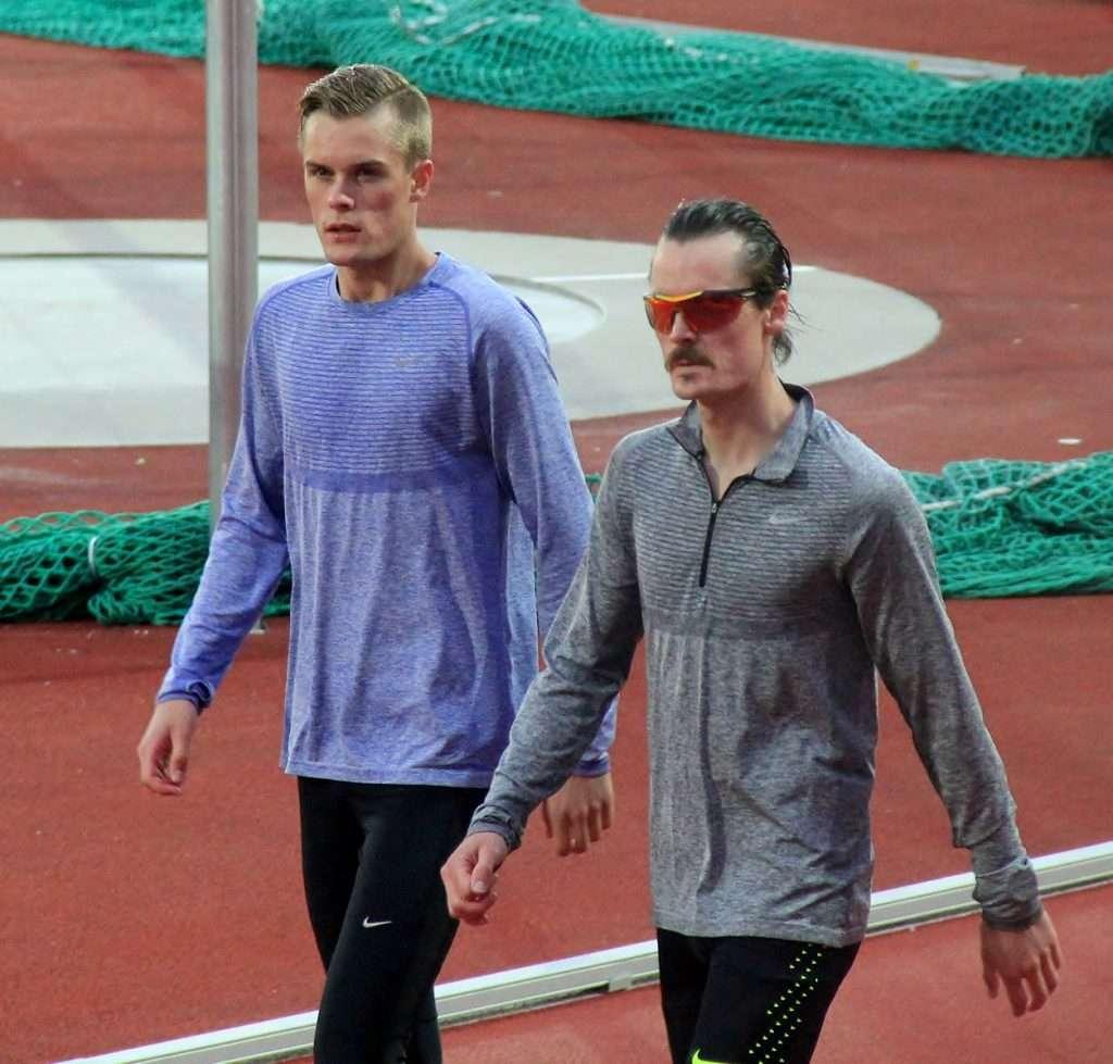 Henrik and Filip Ingebrigtsen