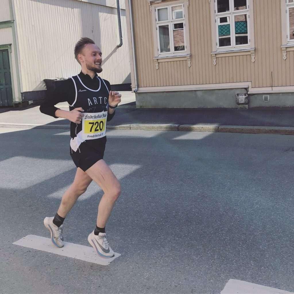 Runner from Fredrikstadløpet Half Marathon 2019