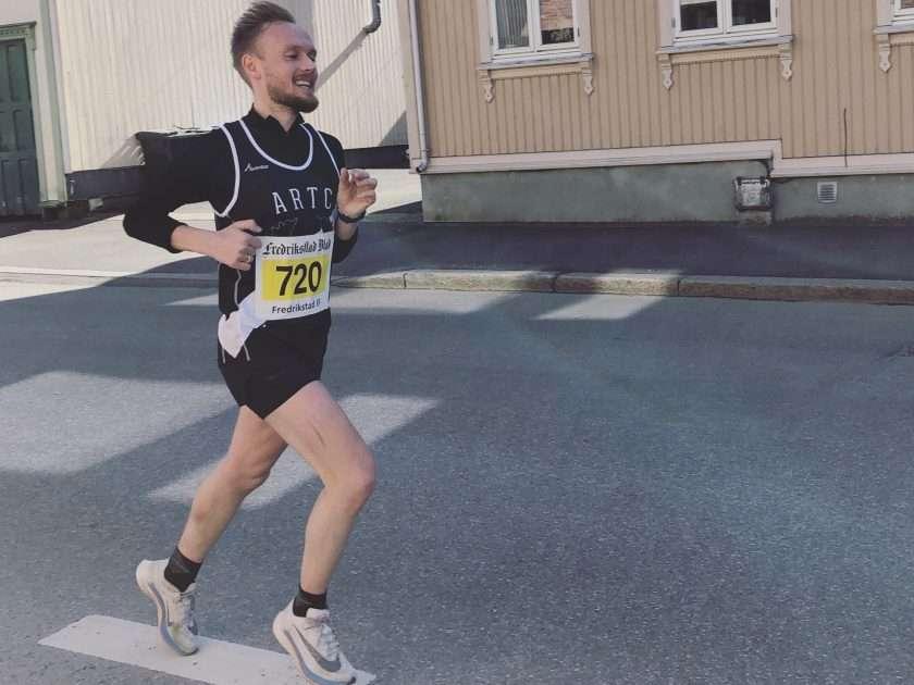 Runner in Fredrikstadløpet 2019