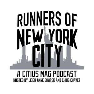 Runners of NYC podcast logo