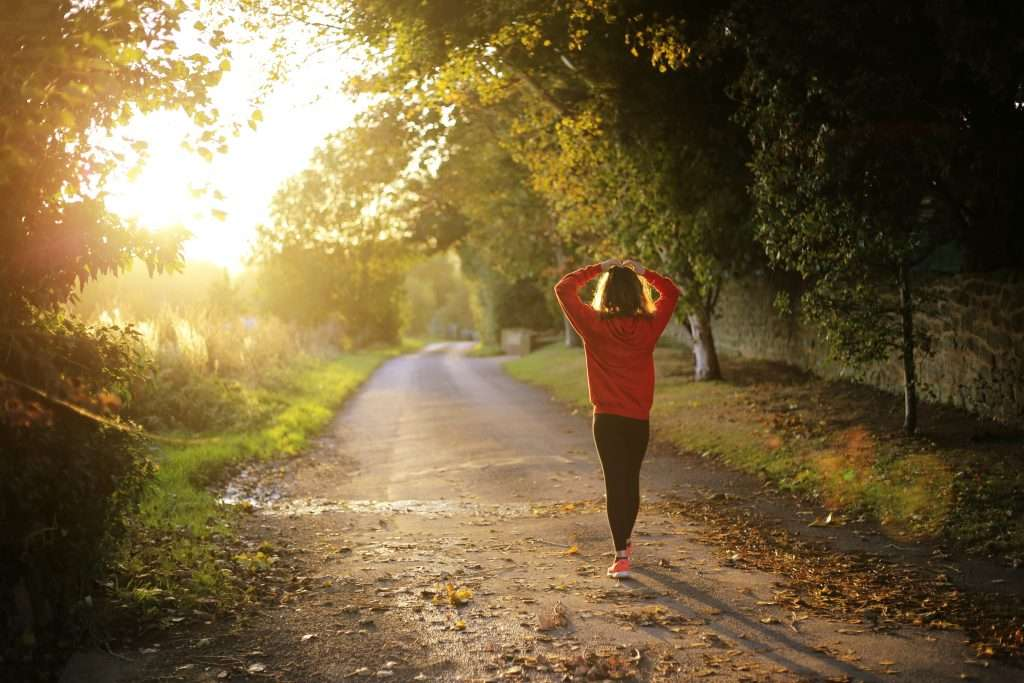Leisurely walks can speed up your marathon recovery.