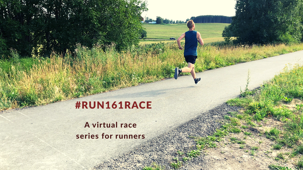 #Run161Race is a virtual race series for runners.