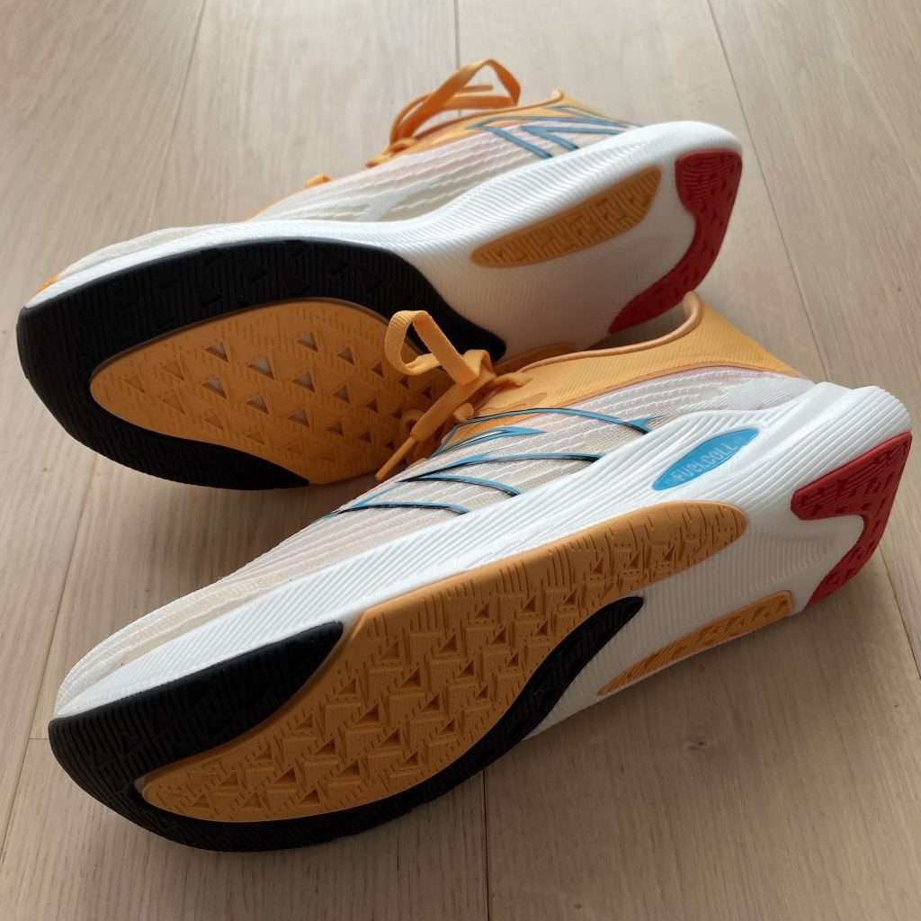 New Balance FuelCell Rebel v2 outsole